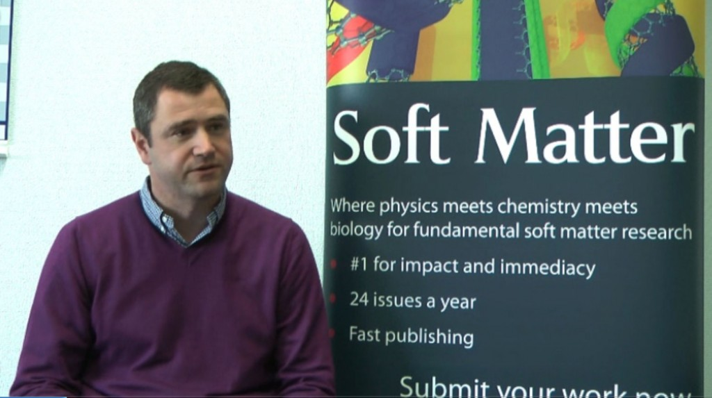 Jan Vermant talks to Soft Matter