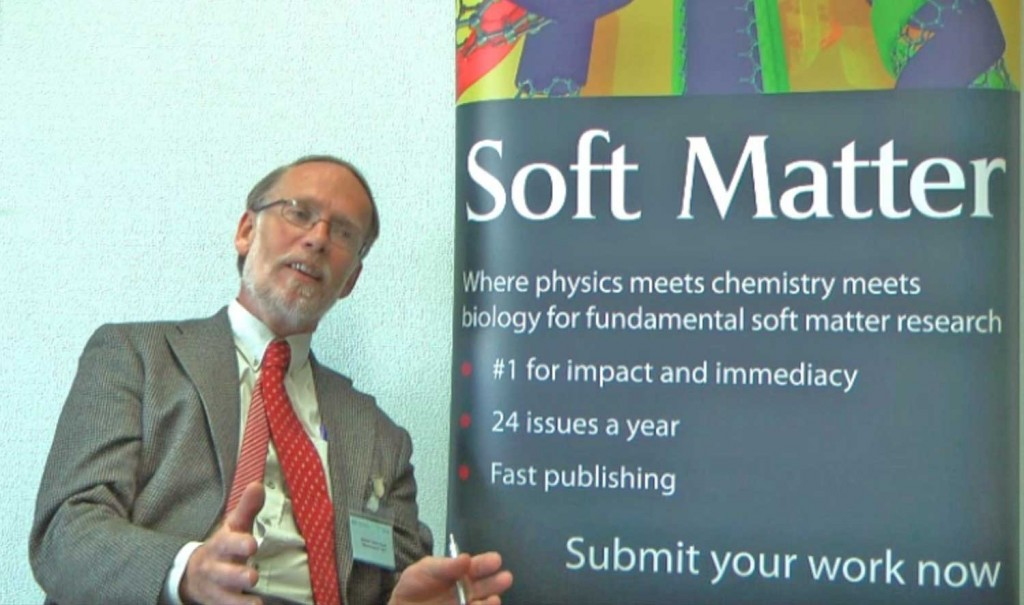 Martien Cohen Stuart talks to Soft Matter about his research on self assembly