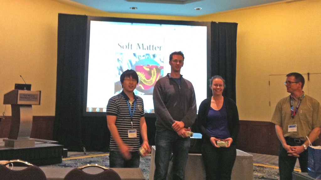 Poster Prize winners at 14th International Scanning Probe Microscopy Meeting