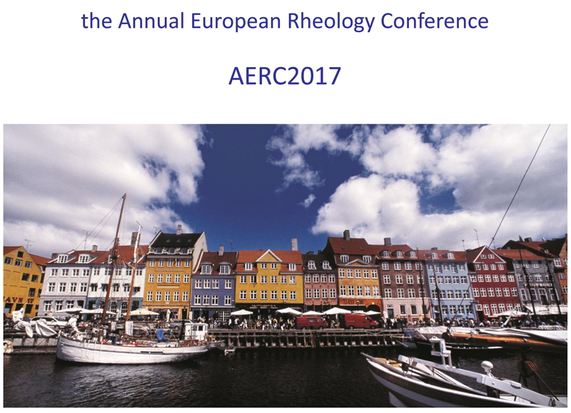 Annual European Rheology Conference 2017