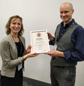 Susan Perkin awarded Soft Matter Prize