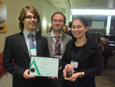 award winners post handover